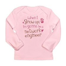 Future Network Engineer Long Sleeve Infant T-Shirt