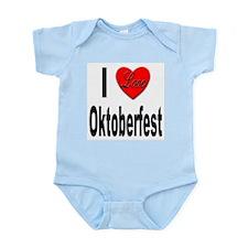 I Love Oktoberfest Infant Creeper