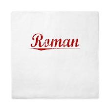 Roman, Vintage Red Queen Duvet