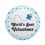 Volunteer Gift Ornament (Round)