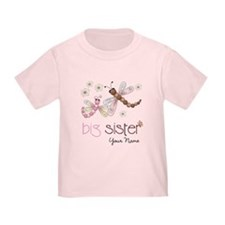 Big Sister Dragonfly Personalized T