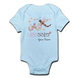 Little Sister Dragonfly Personalized Infant Bodysu