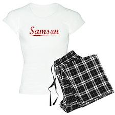 Samson, Vintage Red Pajamas