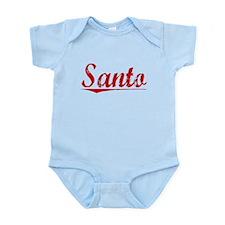 Santo, Vintage Red Infant Bodysuit