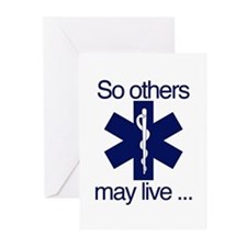 So others may live ... Greeting Cards (Pk of 20)