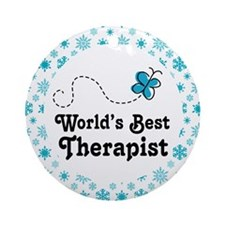 Therapist Gift Ornament (Round)