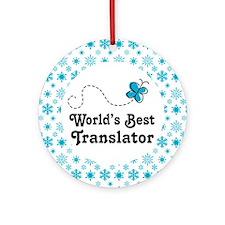 Translator gift Ornament (Round)