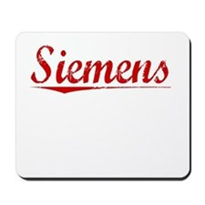 Siemens, Vintage Red Mousepad