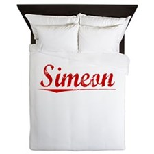 Simeon, Vintage Red Queen Duvet