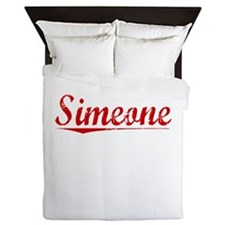 Simeone, Vintage Red Queen Duvet