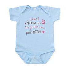 Future Pet Sitter Infant Bodysuit