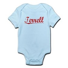 Terrell, Vintage Red Infant Bodysuit