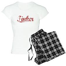 Tinker, Vintage Red pajamas