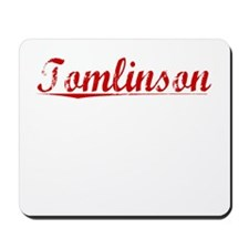 Tomlinson, Vintage Red Mousepad