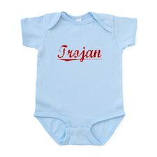 Trojan, Vintage Red Infant Bodysuit