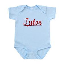 Tutor, Vintage Red Infant Bodysuit