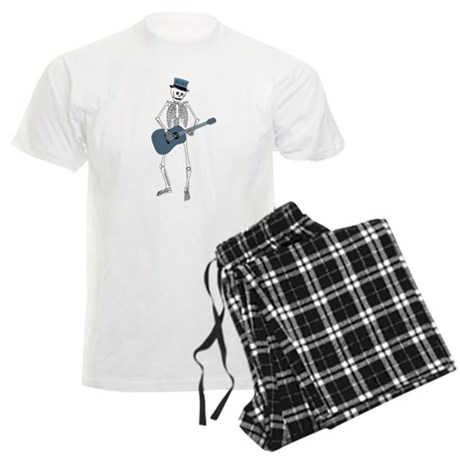 Bluesman Skeleton Men's Light Pajamas