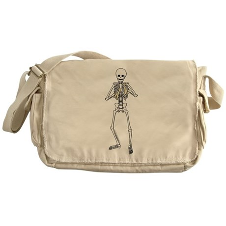 Skeleton Bone Player Messenger Bag