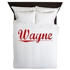 Wayne, Vintage Red Queen Duvet