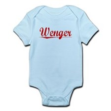Wenger, Vintage Red Infant Bodysuit