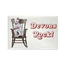 Devons Rock Magnet