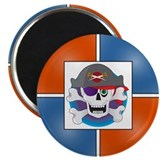 PIRATE 2.25&quot; Magnet (10 pack)
