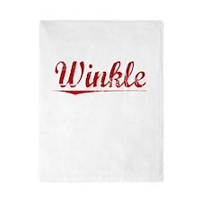 Winkle, Vintage Red Twin Duvet