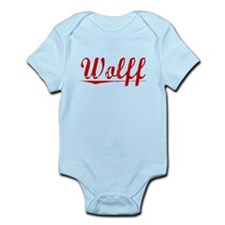 Wolff, Vintage Red Infant Bodysuit