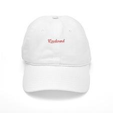 Woodward, Vintage Red Baseball Cap