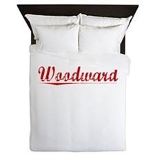 Woodward, Vintage Red Queen Duvet