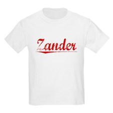 Zander, Vintage Red T-Shirt