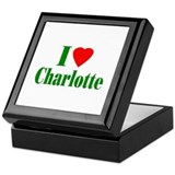 I Love Charlotte Keepsake Box