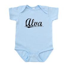 Alva, Vintage Infant Bodysuit
