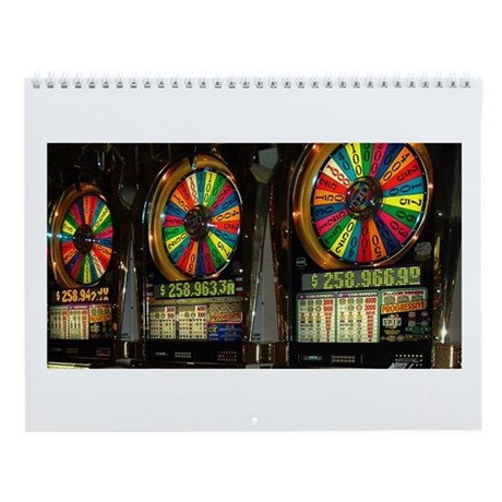Las Vegas Slots Wall Calendar by VegasTease