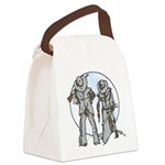 Cowboy Canvas Lunch Bag