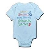 Future Philosophy Teacher Onesie