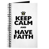 Keep Calm and Have Faith Journal