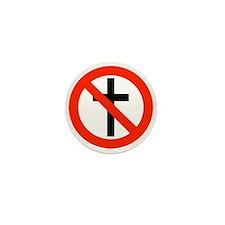 No Religion Mini Button