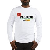 GuyanaCricketBatYellow Long Sleeve T-Shirt