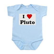 I Love Pluto Infant Creeper