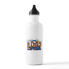 Las Vegas Poker Humor Water Bottle