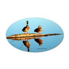 Ducks at sunset Wall Decal