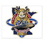 USS Minnesota SSN 783 Small Poster