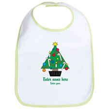 Personalized Christmas Tree Bib