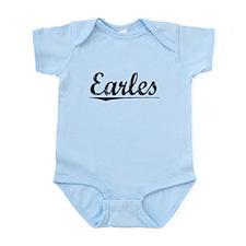 Earles, Vintage Infant Bodysuit