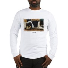 Tri Color Collie Long Sleeve T-Shirt