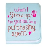 Kids Future Purchasing Agent baby blanket