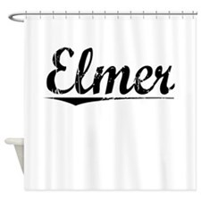 Elmer, Vintage Shower Curtain