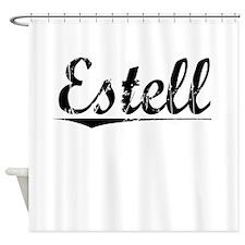 Estell, Vintage Shower Curtain