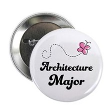 "Architecture Major 2.25"" Button"